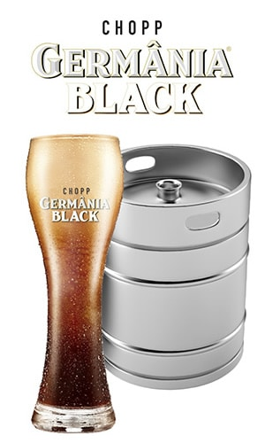 barril de chopp black - germania