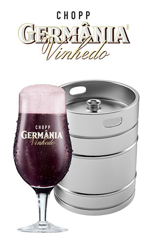 barril de chopp com vinho - germania