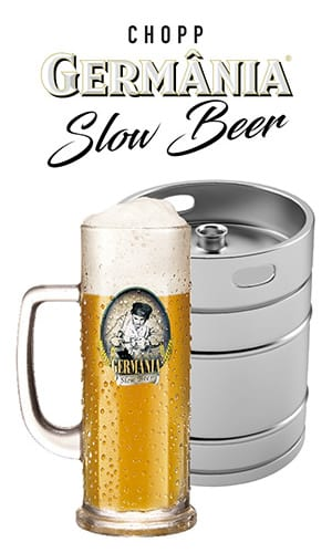 barril de chopp slow beer - germania